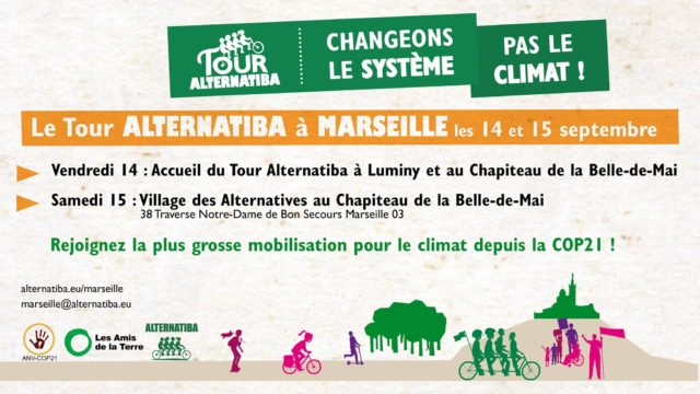 Tour Alternatiba 2018 à Marseille