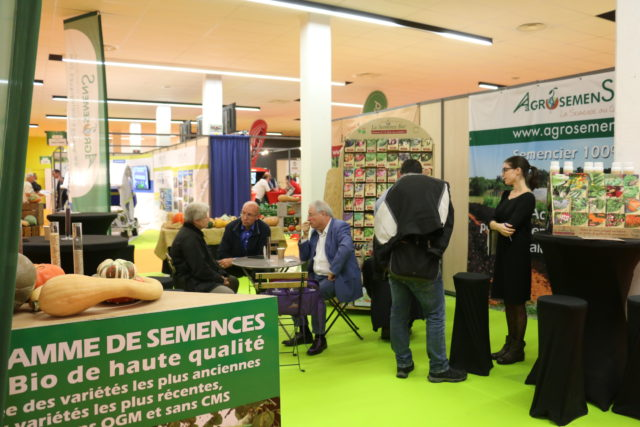 Agrosemens au salon Tech&bio