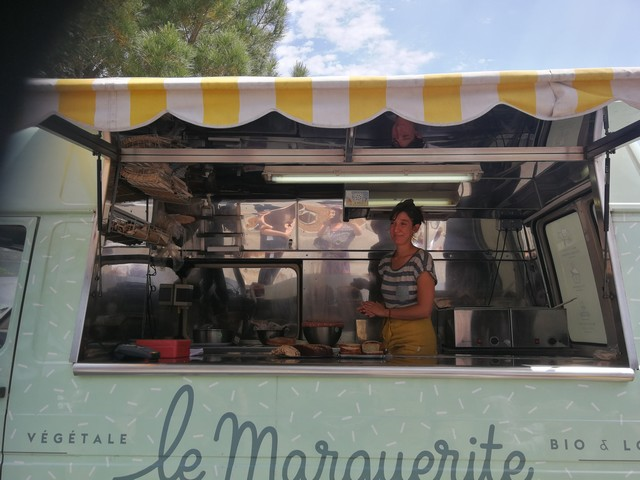 la Marguerite, food-truck vegan