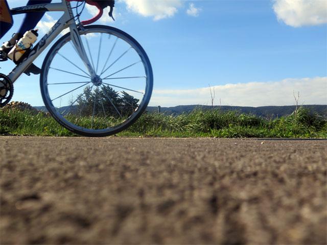 Sur la véloroute du Calavon
