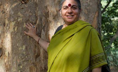 Vandana Shiva en conférence à Marseille