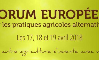le PNR Alpilles et le forum européen
