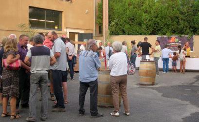 Inauguration de l'atelier de transformation à Coustellet