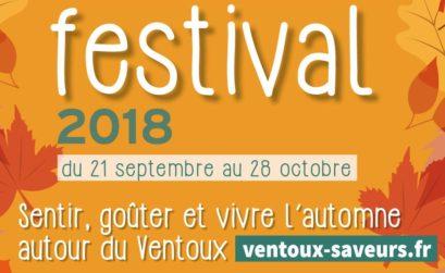 Festival Ventoux saveurs 2018