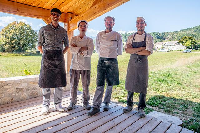 L'Ecole Internationale de Boulangerie, un OVNI dans la vallée du Jabron