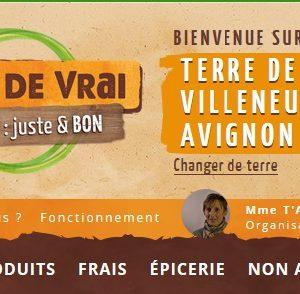 Villeneuve les Avignon a sa Terre