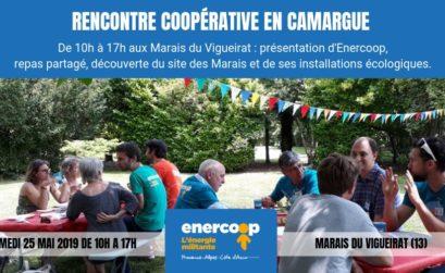 Rencontres Enercoop en Camargue