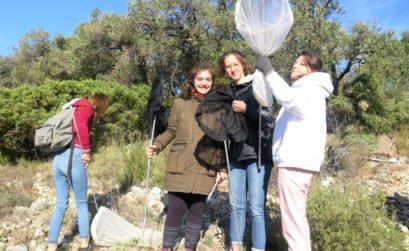 lycéens et biodiversité Luberon
