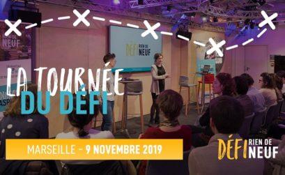 la tournée du défi à Marseille