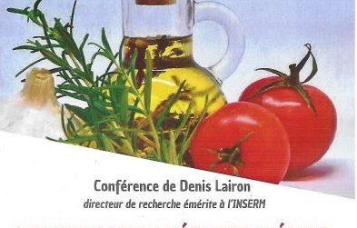 Denis Lairon et l'alimentation méditerranéenne