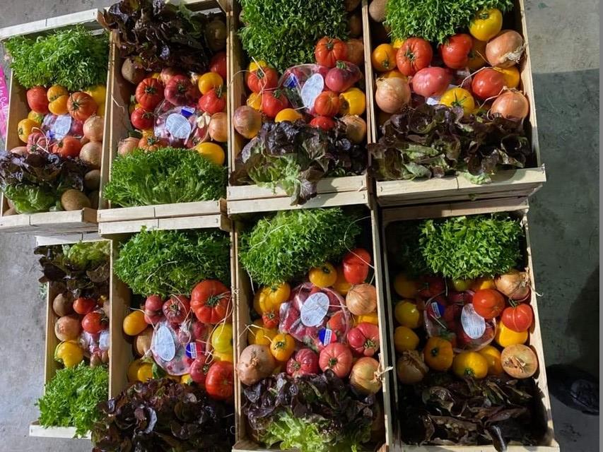 les paniers partagés de fruits et légumes locaux et de qualité
