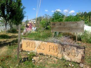 les jardins partagés de Robion au pied du uberon