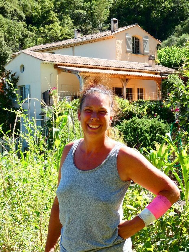 Géraldine aime la Provence