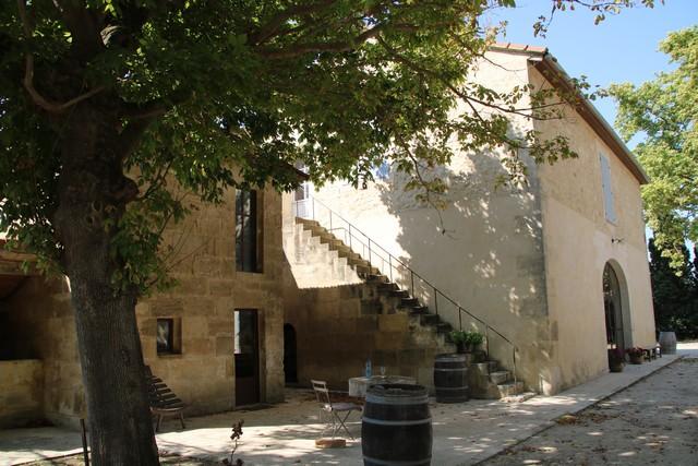 le mas construit au 15e siècle