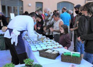 A Toulon, buffet de produits locaux