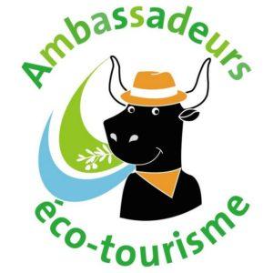 logo ambassadeurs Eco tourisme PNR Camargue