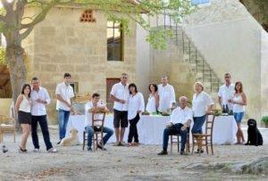 la famille Michel au Mas de Valériole ©famille Michel