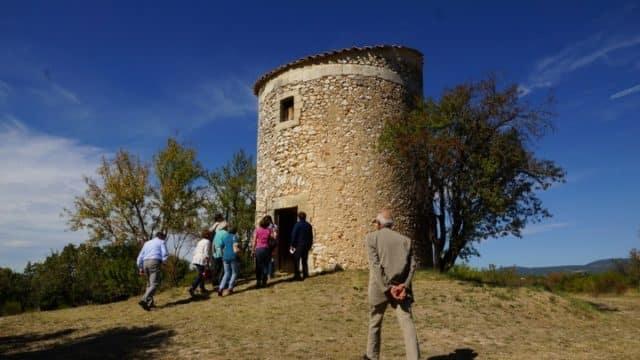 le moulin de Salignan à Apt