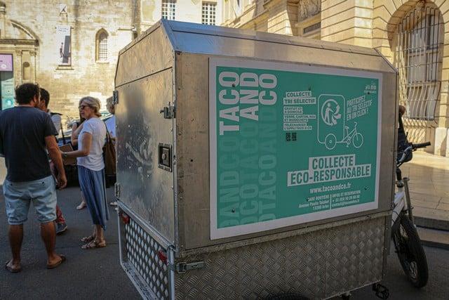Arles le vélo cargo de Taco & Co ©Baptiste Buisson